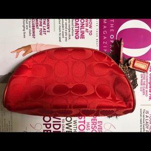 Coach Bags - Small Coach makeup bag